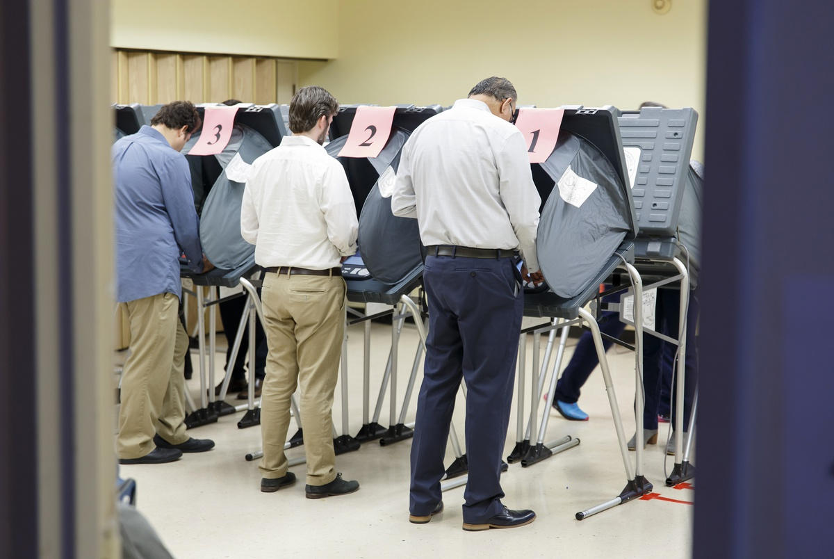 Harris County election results were delayed on Election Day. Why?