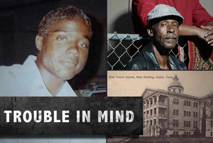 Andre Thomas in a photo taken during his teen years, left. Danny Thomas, Andre Thomas' father, top right. The State Insane A…