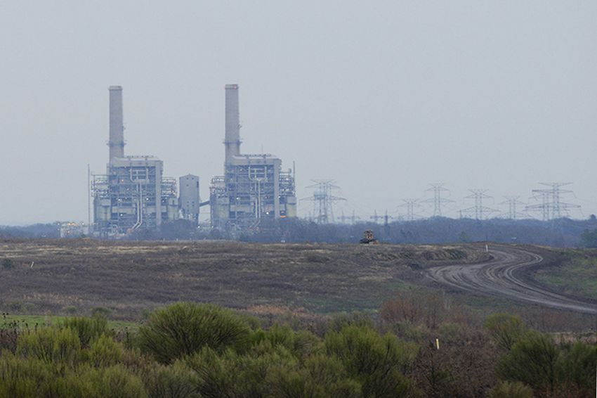The Big Brown power plant in Fairfield, Texas