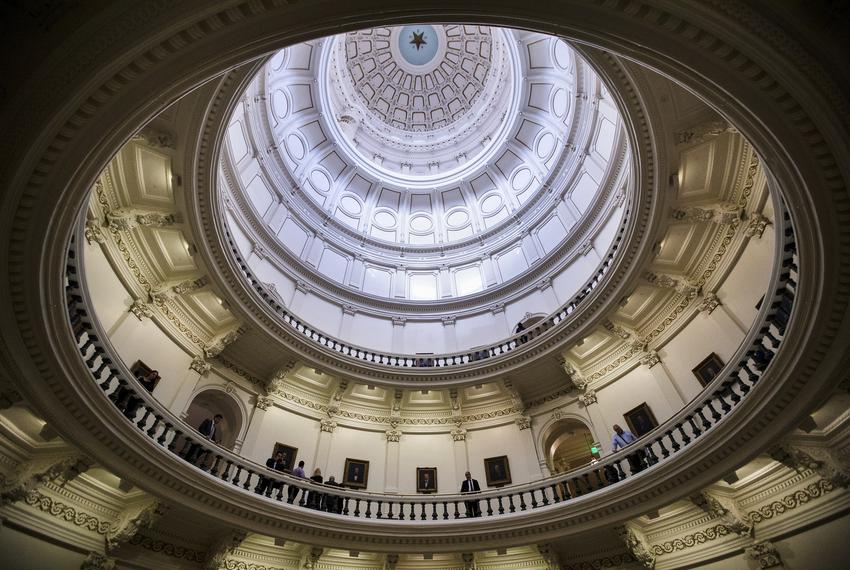 A view of the rotunda at the state capitol. Jan. 8, 2018.