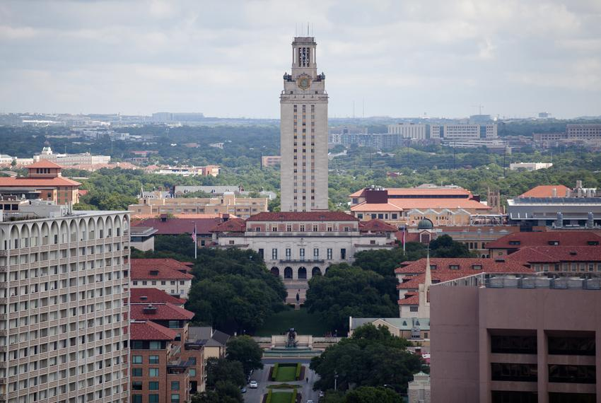 The Tower at the University of Texas at Austin on June 27, 2017.