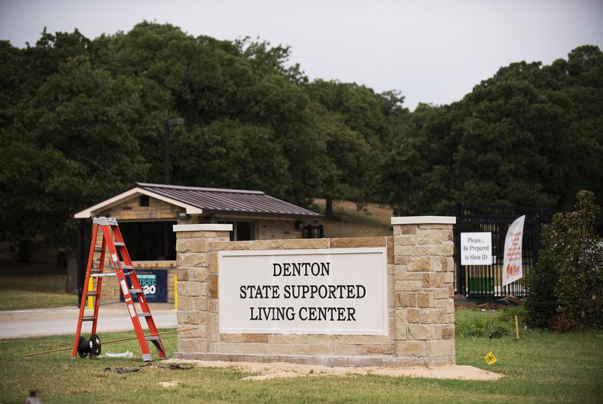 The Denton State Supported Living Center.