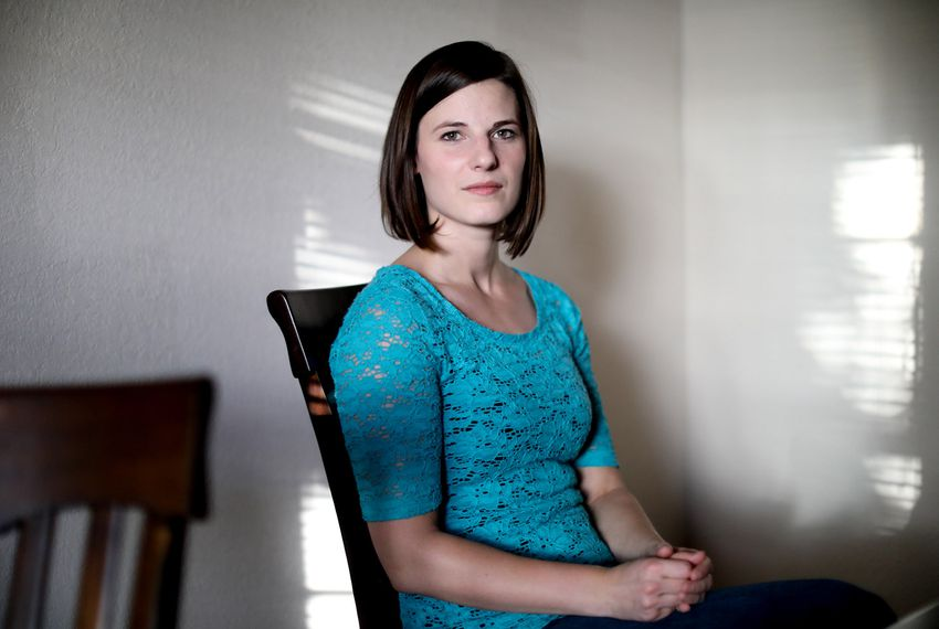 Briana Dovi, who graduated from University of Texas at Arlington, is one of the few foster youths in Texas that has taken advantage of the free tuition waiver provided by the state.