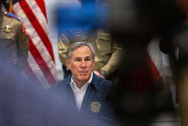 Gov. Greg Abbott speaks at a press conference regarding Texas' emergency response to an unprecedented winter storm gripping Texas on Feb. 13, 2021.