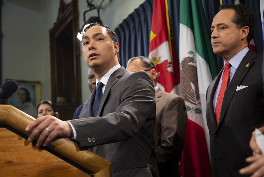 U.S. Rep. Joaquin Castro, D-San Antonio, has opted to run for reelection rather than pursue what would likely have been a bruising political battle.