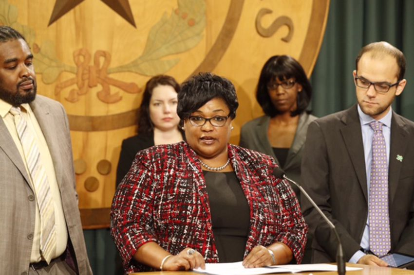 State Rep. Toni Rose, D-Dallas, announces a bill on March 7, 2017, that would make it illegal to sentence to death someone who is severely mentally ill.