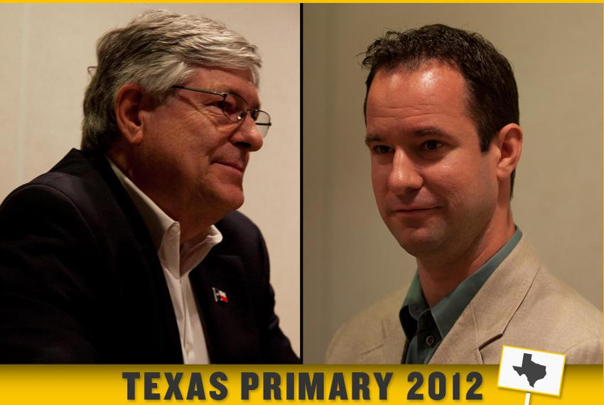 State Rep. Paul Workman and his GOP primary challenger Ryan Downton.