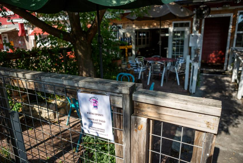 Mi Madre's Restaurant in Austin opened their patio following the end of Gov. Greg Abbott's stay-at-home order in May.