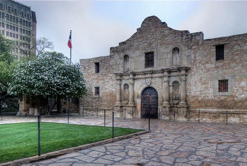 The Alamo in San Antonio.