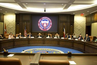 The University of Texas System board of regents at a special meeting Aug. 4, 2018 named James Milliken as the sole finalist for chancellor.