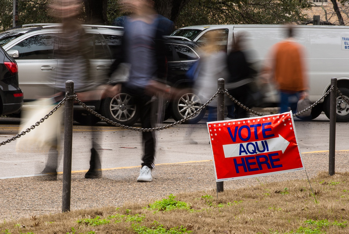 Federal Judge Texas Is Violating National Voter