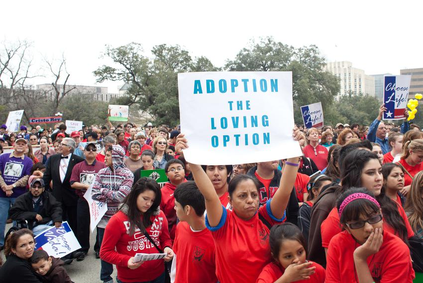 Thousands of abortion opponents attended the Texas Rally for Life at the Capitol on Jan. 26, 2013, where speakers included G…