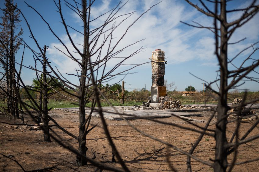 The town is now grappling with questions about its future and how to provide aid to the hundreds of residents displaced by the fire.