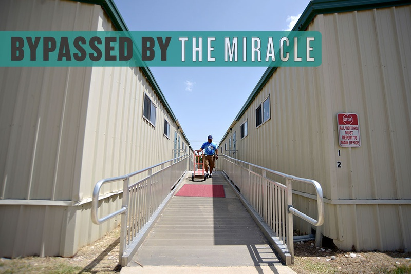 Leander ISD's Whitestone Elementary School, shown on Aug. 21, 2014, has six portable classrooms to help with increased student enrollment.  District officials say If the district couldn't use capital appreciation bonds to borrow money, it would have to put more students in portables.