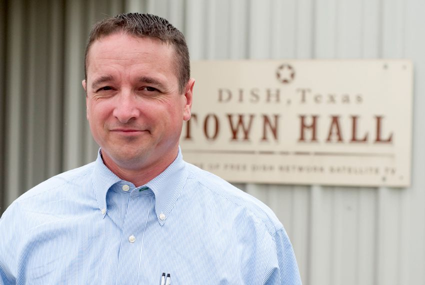 Calvin Tillman, Mayor of Dish, Texas