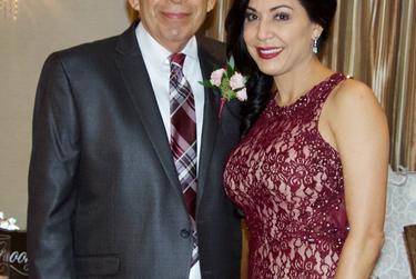 Amanda Alvarado with her father Fito Alvarado.