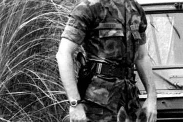Collin County Sheriff Jim Skinner served in the Philippines as one of the Air Force's K-9 handlers. He extended his tour several times to stay with his dog, Jessie, who was nearing retirement age.