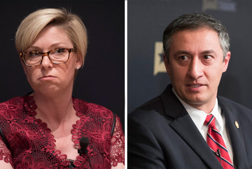 State Reps. Sarah Davis and Giovanni Capriglione are seeking to require Austin lobbyists to disclose to state officials if they have business representing foreign governments.