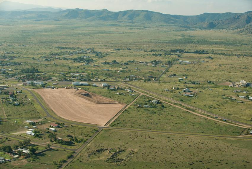 An aerial photograph of the Big Bend region near Alpine, where opposition to the proposed Trans-Pecos pipeline has grown sin…