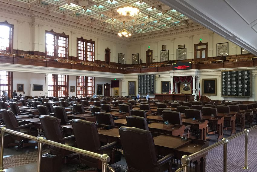 With less than a week before lawmakers convene, preparations are underway to welcome members of the state House of Representatives for the 85th session of the Texas Legislature.