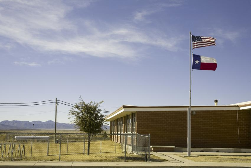 The West Texas town of Marathon.