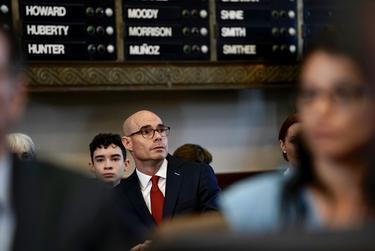 State Rep. Dennis Bonnen before he was elected House speaker on Tuesday, Jan. 8, 2019.