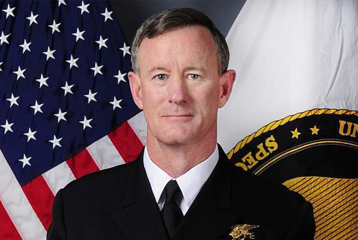 Ret Admiral William McRaven explains how he learned to be his best in his darkest moment