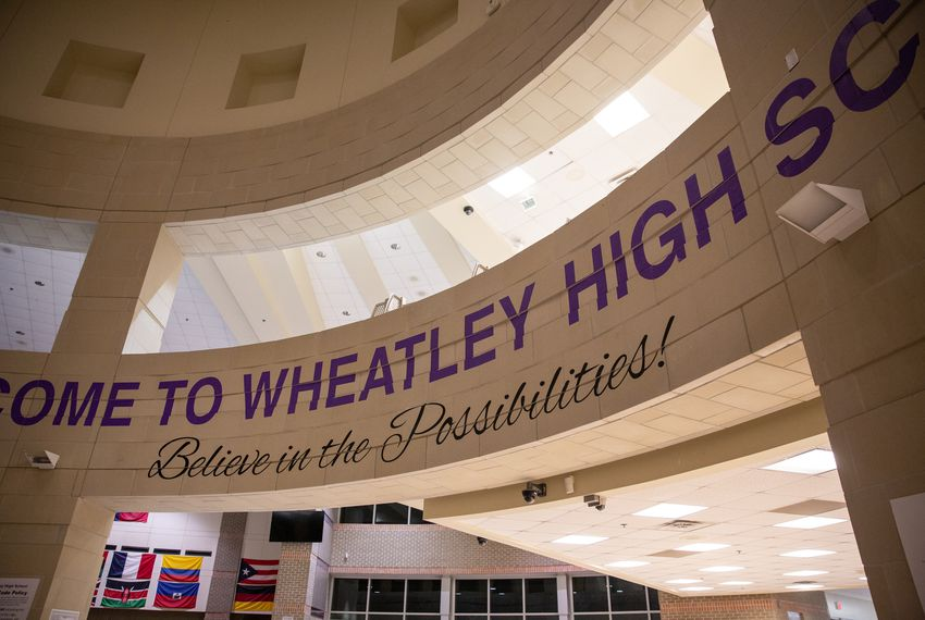 The longstanding academic failure of Wheatley High School was cited as one reason for the district takeover.