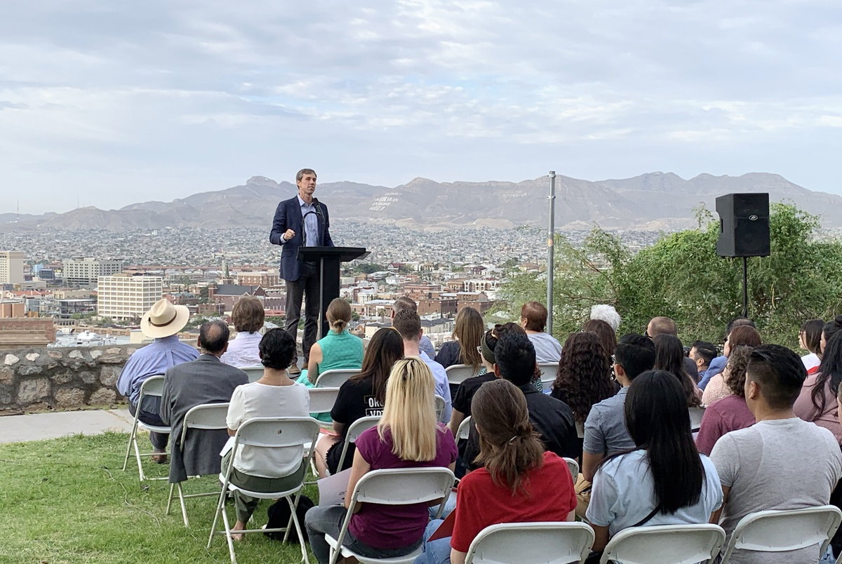Returning to the trail, Beto O'Rourke pledges to more aggressively ...