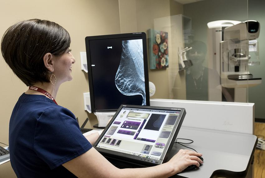 A new law will require insurers to cover 3-D mammograms at no additional cost to patients. Radiology technologist Shadak Kia…