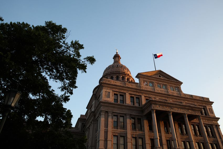 The Texas Capitol in Austin on June 12, 2017.