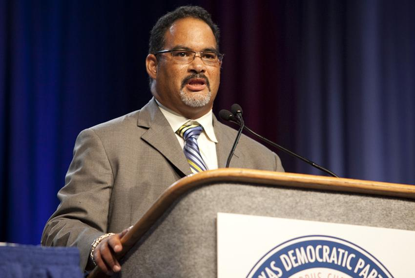 State Rep. Garnet Coleman, D-Houston, at the 2010 Texas Democratic convention in Corpus Christi, Tex. on June 26.