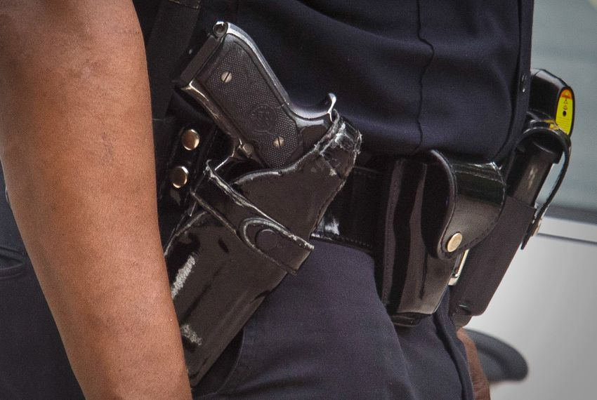 """The Texas Tribune's """"Unholstered"""" series is a seven-part, data-driven investigation that looks at when and why officers used lethal force in Texas between 2010 and 2015."""