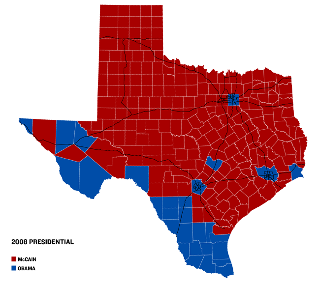2008 Presidential Race Results