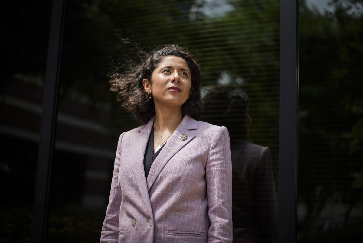 Harris County Judge Lina Hidalgo navigates coronavirus ...
