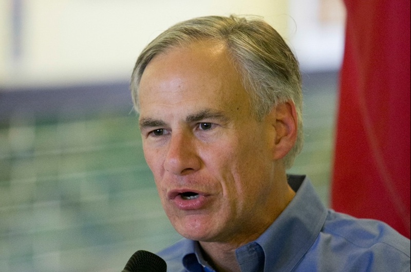 Texas attorney general and candidate for governor of Texas Greg Abbott during a campaign stop in San Marcos, Texas on October 12th, 2013.