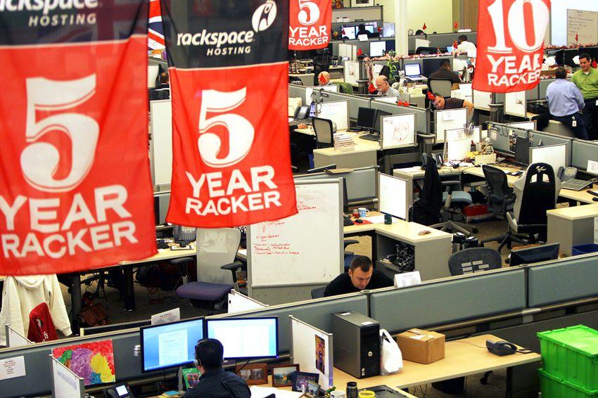 Rackspace Hosting Headquarters in San Antonio, Monday, January 7, 2012.