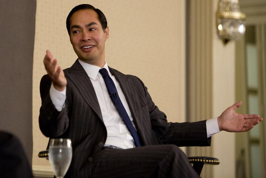 HUD Secretary Julián Castro during May 1 Tribune Conversation