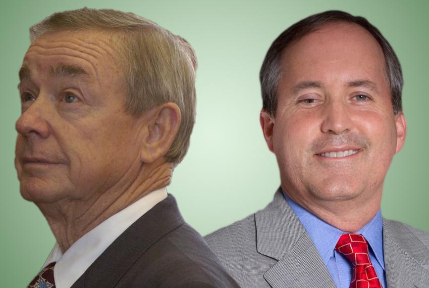State Rep. Warren Chisum, R-Pampa and state Rep. Ken Paxton, R-McKinney