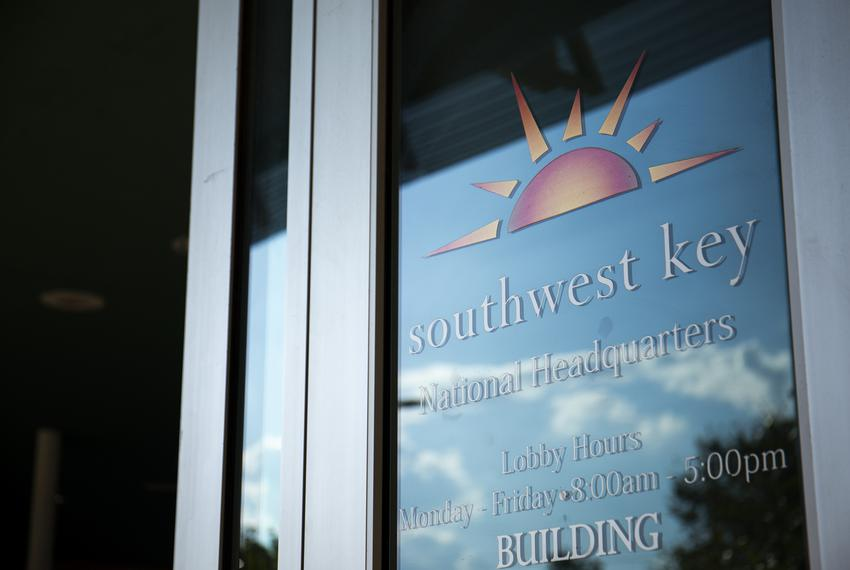 Southwest Key National Headquarters located in Austin on Oct. 4, 2019.