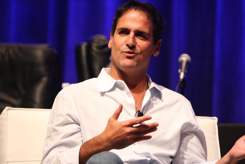Mark Cuban is a tech billionaire and owner of the Dallas Mavericks basketball team.
