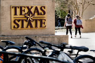 Texas State University is in San Marcos.