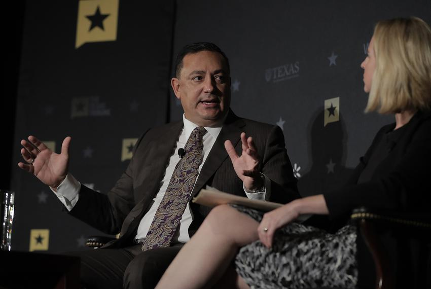 Houston Police Chief Art Acevedo discusses Hurricane Harvey and its aftermath with Tribune Editor-in-Chief Emily Ramshaw a...