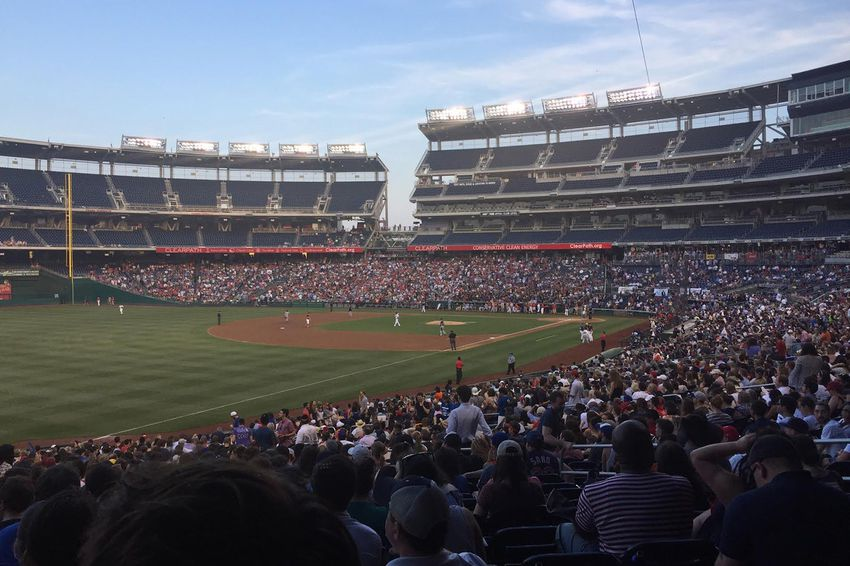 The Congressional Baseball Game for Charity at Nationals Park in Washington, D.C. on June 15, 2017.