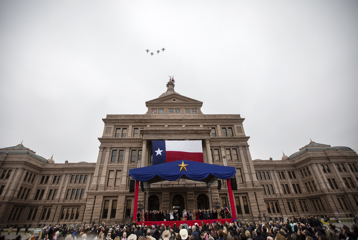 The 2019 Texas inauguration cost a record $5.3 million. Where are t...