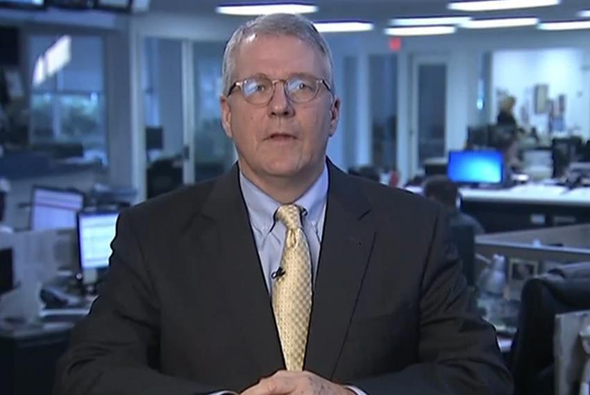 Texas Tribune Executive Editor Ross Ramsey on WFAA-TV's Inside Texas Politics on Jan. 4, 2015.