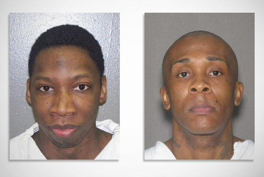Alton Rodgers (l) was found unresponsive inside his Clements Unit cell on Jan. 18 and died the following day. Cellmate Joe G…