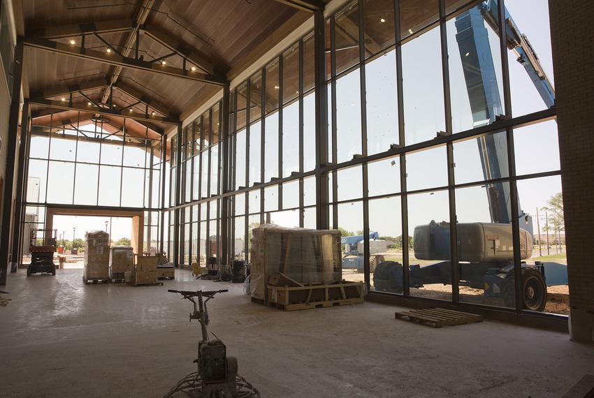 The new Agricultural Sciences Complex at the West Texas A&M University campus in Canyon on June 15, 2018. The complex is p...