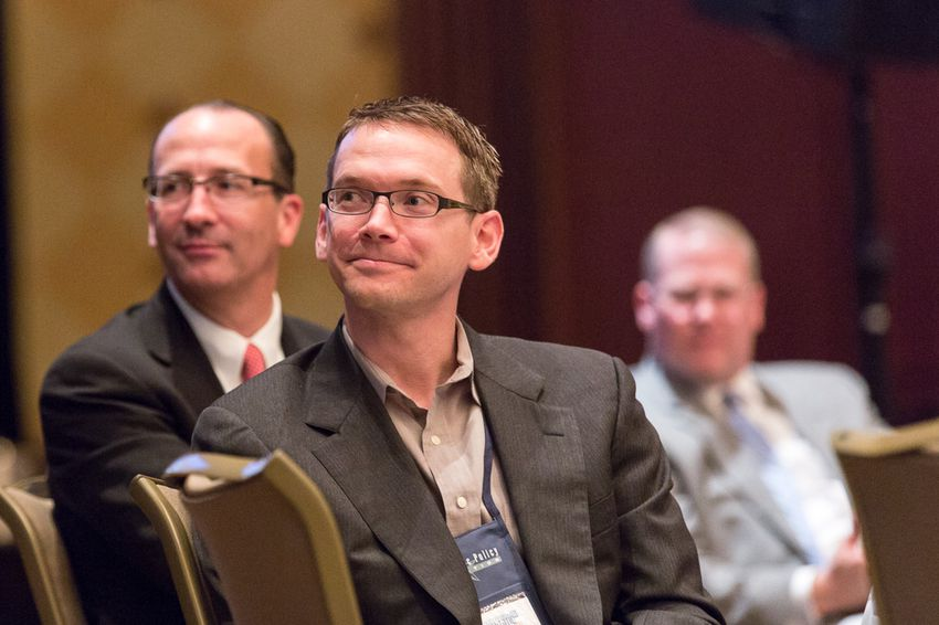 """Texas' new education commissioner, Mike Morath, attended a keynote luncheon titled """"Education Freedom and the American Future"""" on Jan. 7, 2016 at the conservative Texas Public Policy Foundation's annual policy forum."""