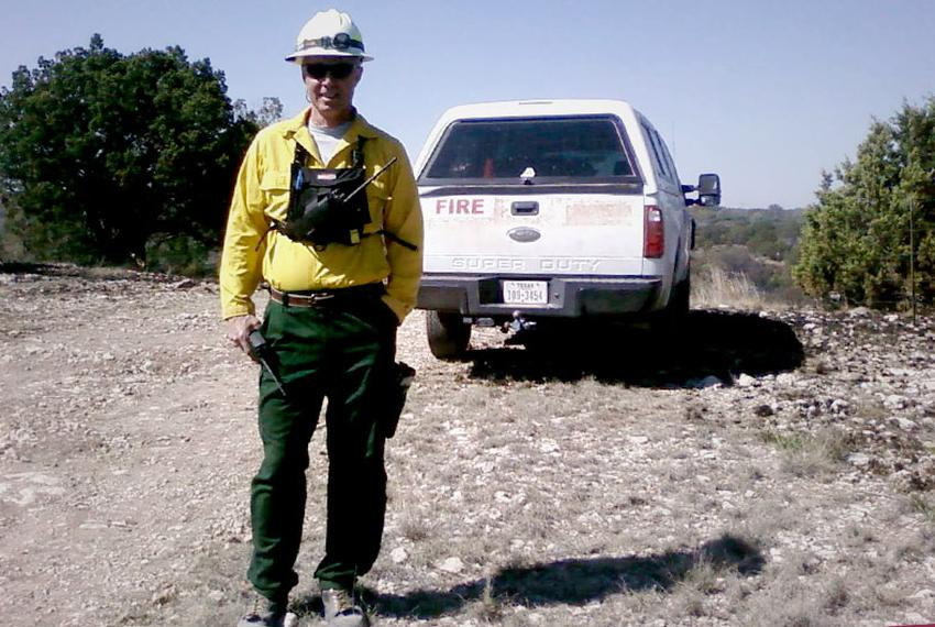 Steve Pollock, Assistant Chief for the Texas Forest Service.